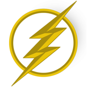 The Flash logo dls