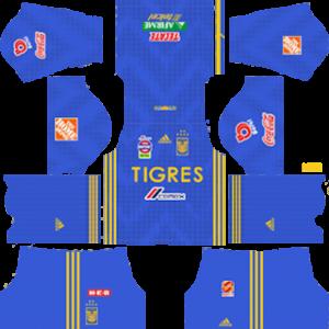 Tigres UANL away kit 2019-2020 dream league soccer