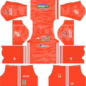 Tigres UANL gk away kit 2019-2020 dream league soccer