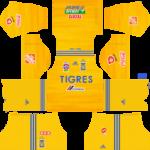 Tigres UANL Kits 2019/2020 Dream League Soccer
