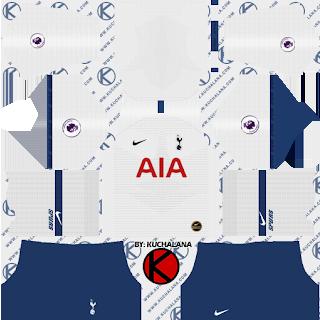 Tottenham Hotspur Kits 2019 2020 Dream League Soccer