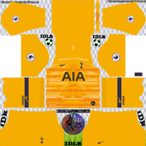 Tottenham Hotspur gk away kit 2019-2020 dream league soccer