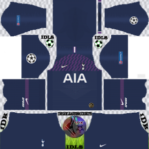 Tottenham UCL away kit 2019-2020 dream league soccer