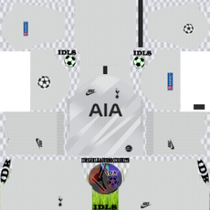 Tottenham UCL gk away kit 2019-2020 dream league soccer