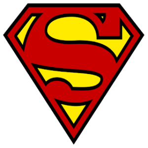 superman dream league soccer logo