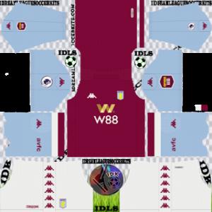 Aston Villa FC Kits 2019/2020 Dream League Soccer