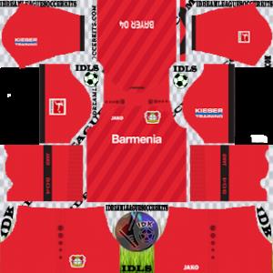 Bayer Leverkusen Kits 2019/2020 Dream League Soccer
