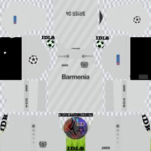 Bayer Leverkusen UCL third kit 2019-2020 dream league soccer