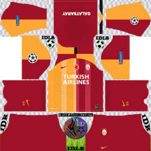 Galatasaray UCL home kit 2019-2020 dream league soccer