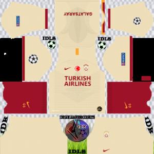 Galatasaray ucl away kit 2019-2020 dream league soccer