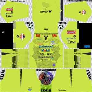Persib Bandung gk away kit 2019-2020 dream league soccer