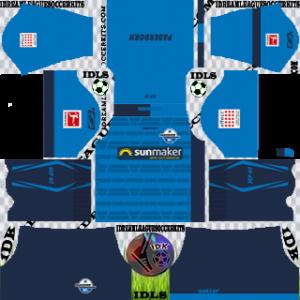 SC Paderborn Kit 2019-2020 gk Home