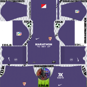 Sevilla FC Kit 2019-2020 gk Home