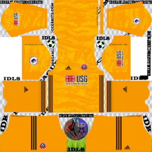 Sheffield United FC Kit 2019-2020 gk Home