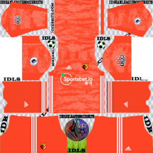 Watford FC gk away kit 2019-2020 dream league soccer