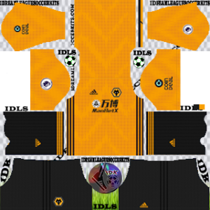 Wolverhampton Wanderers FC Kits 2019/2020 Dream League Soccer