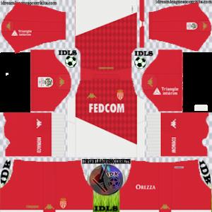 AS Monaco FC home kit 2019-2020 dream league soccer