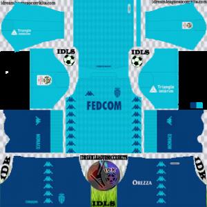 AS Monaco FC third kit 2019-2020 dream league soccer