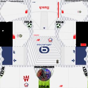 Lille LOSC third kit 2019-2020 dream league soccer