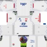 Olympique Lyonnais Kits 2019/2020 Dream League Soccer