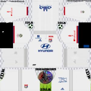 Olympique Lyonnais Kits 2019/2020 Dream League Soccer
