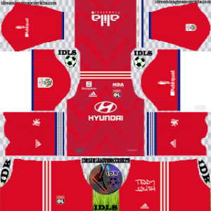 Olympique Lyonnais third kit 2019-2020 dream league soccer