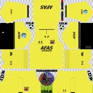 AZ Alkmaar gk away kit 2019-2020 dream league soccer