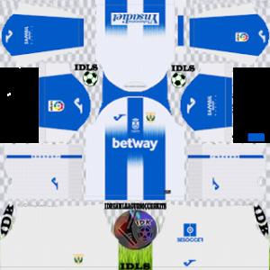 CD Leganes Kits 2019/2020 Dream League Soccer