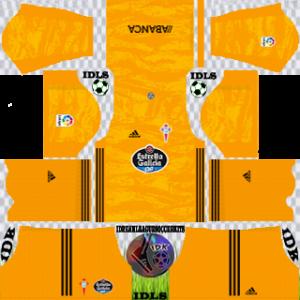 Celta Vigo gk home kit 2019-2020 dream league soccer