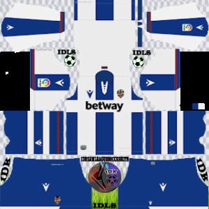Levante UD away kit 2019-2020 dream league soccer
