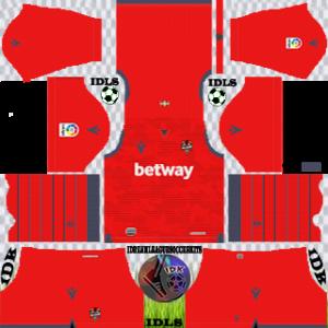 Levante UD gk home kit 2019-2020 dream league soccer