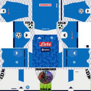 Napoli ucl home kit 2019-2020 dream league soccer