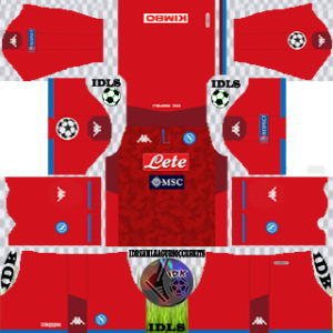Napoli ucl gk home kit 2019-2020 dream league soccer
