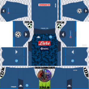 Napoli ucl gk away kit 2019-2020 dream league soccer
