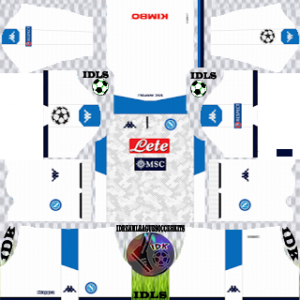 Napoli ucl third kit 2019-2020 dream league soccer