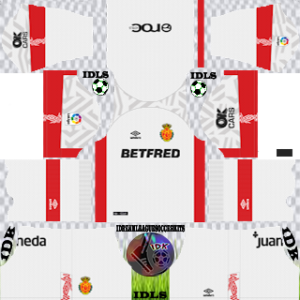 RCD Mallorca away kit 2019-2020 dream league soccer