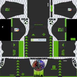 Real Betis away kit 2019-2020 dream league soccer