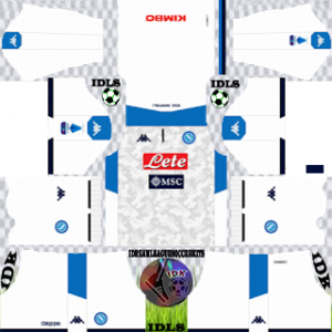 Napoli third kit 2019-2020 dream league soccer