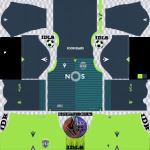 Sporting CP away kit 2019-2020 dream league soccer
