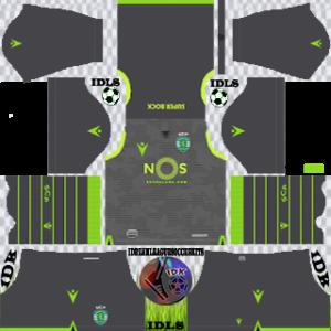 Sporting CP gk home kit 2019-2020 dream league soccer
