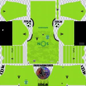 Sporting CP gk away kit 2019-2020 dream league soccer