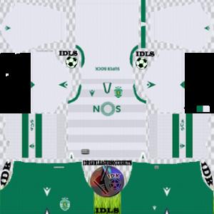 Sporting CP third kit 2019-2020 dream league soccer