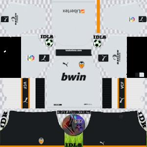 Valencia Kits 2019/2020 Dream League Soccer