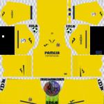 Villarreal CF Kits 2019/2020 Dream League Soccer