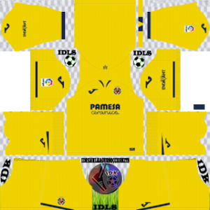 Villarreal CF Kits 2019/2020 Dream League Soccer