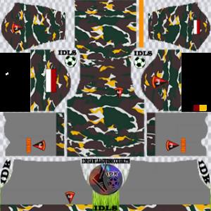 Army Kit 2020 Dream League Soccer away