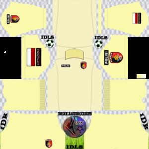 Army Kit 2020 Dream League Soccer gk away