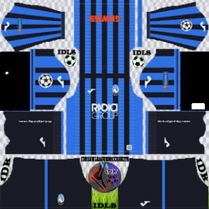 Atalanta UCL home kit 2019-2020 dream league soccer