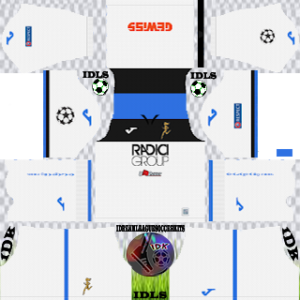 Atalanta UCL away kit 2019-2020 dream league soccer