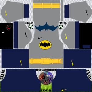 Batman gk home kit 2020 dream league soccer